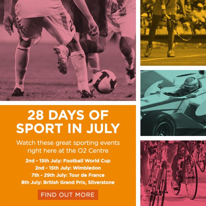 28 Days of Sport in July
