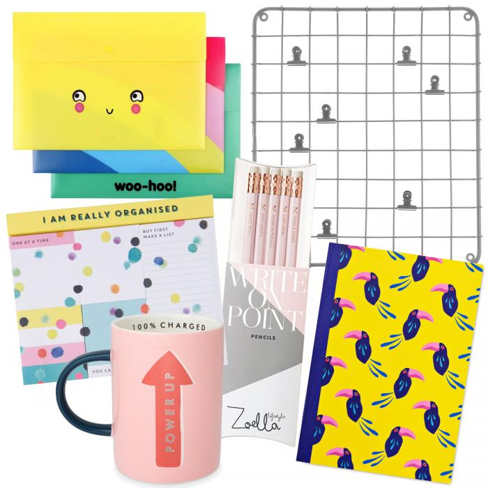 Various stationery items sold by O2 Centre