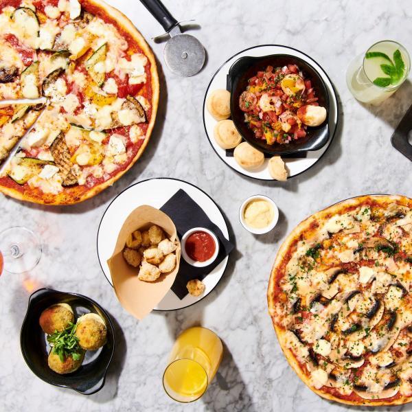 Summer menu at Pizza Express