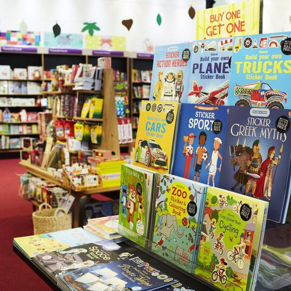 Head to Waterstone's at The 02 for children's books this summer