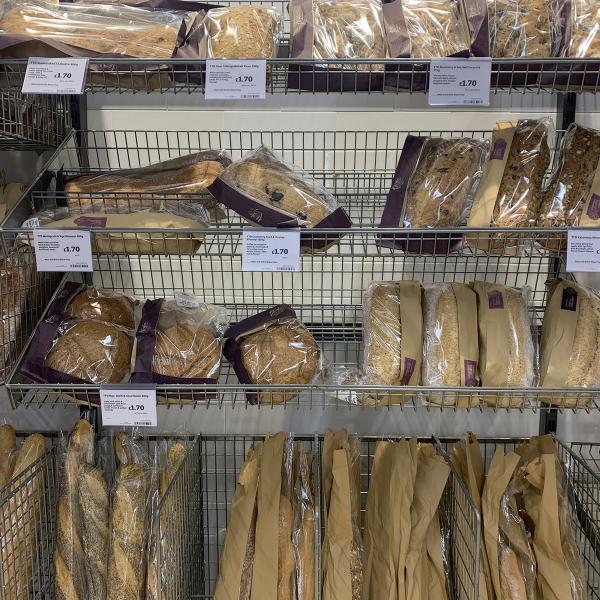 Bread at Sainsburys